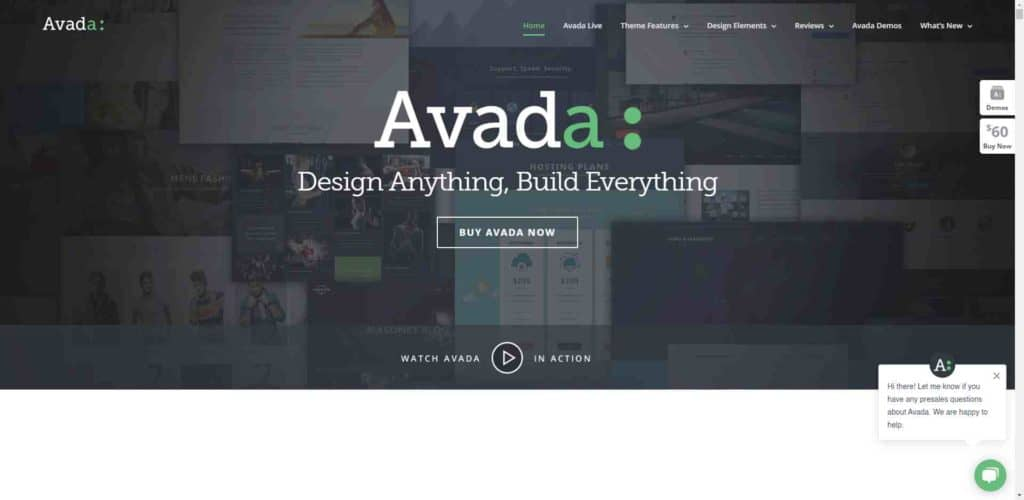 Avada 官網