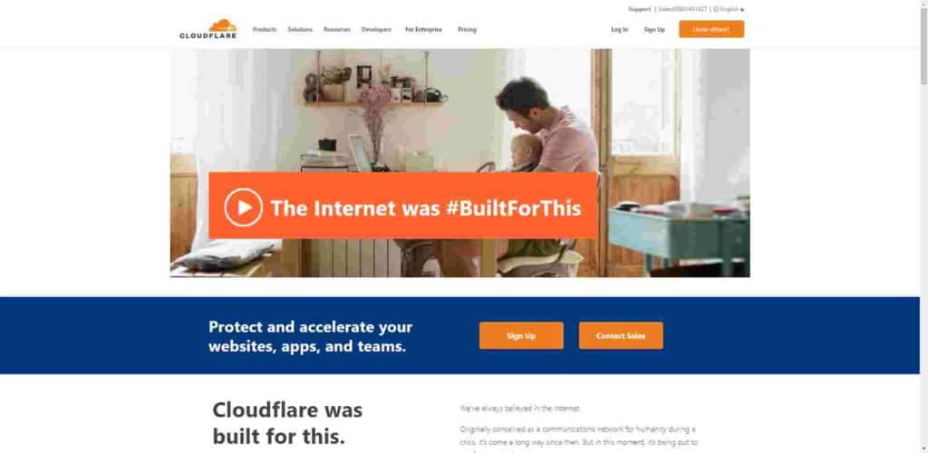 Cloudflare 官網