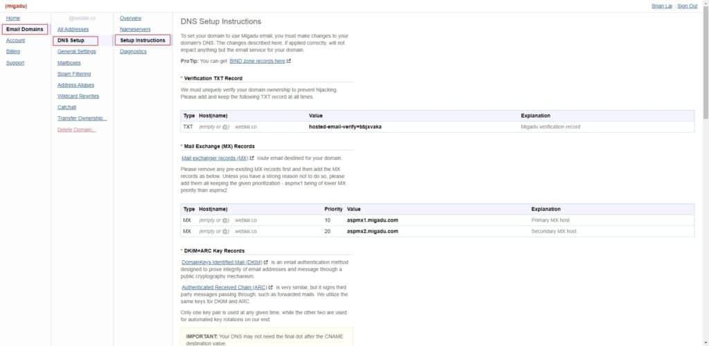 如何用自己的網址收信? 5 分鐘教你用 Migadu 免費建立網域信箱 | 7