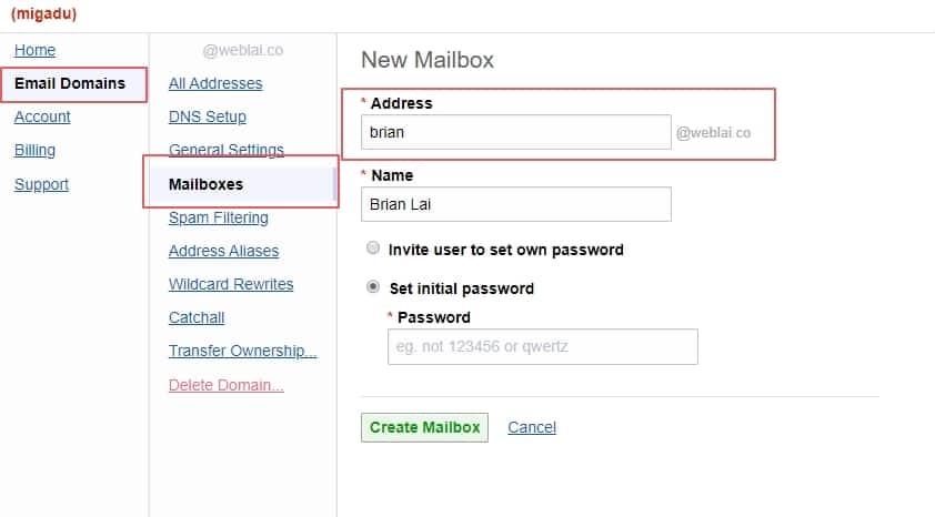 如何用自己的網址收信? 5 分鐘教你用 Migadu 免費建立網域信箱 | 15