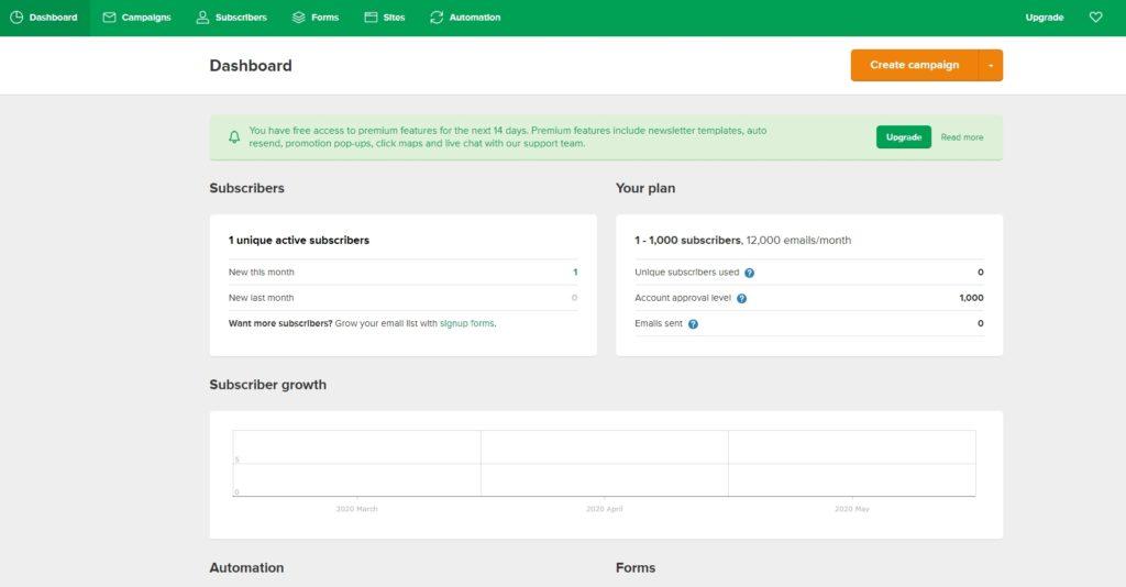 如何製作 WordPress 電子報?MailerLite 完整設定教學,No.1 電郵行銷工具推薦 | 21