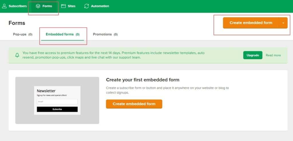 如何製作 WordPress 電子報?MailerLite 完整設定教學,No.1 電郵行銷工具推薦 | 29