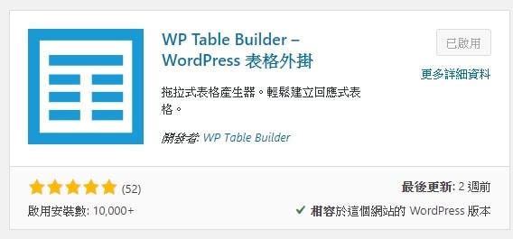 WP Table Builder 表格外掛教學,5 分鐘讓你做出清楚好懂的表格 | 3