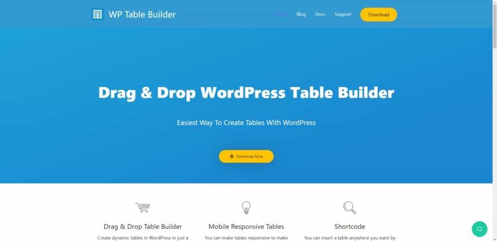 WP Table Builder 表格外掛教學,5 分鐘讓你做出清楚好懂的表格 | 2