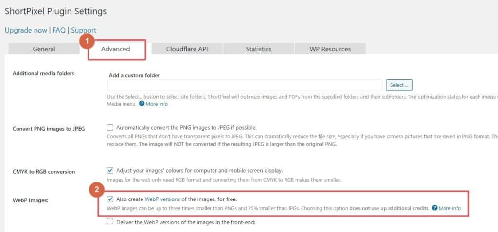 如何提升 WordPress 網站速度?使用 WebP 圖片格式縮短網站載入時間 100% | 14