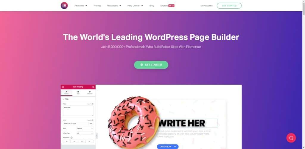 Elementor 教學,超過 500 萬人使用的 WordPress 頁面編輯器 | 5